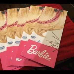 Barbie hair extension design